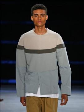 General Idea Block Sweat Shirt Mint