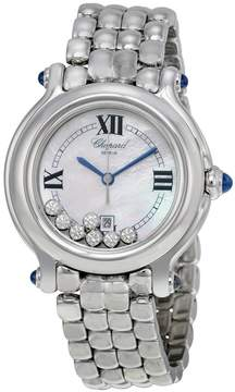 Chopard Happy Sport Mother of Pearl Floating Diamond Dial Ladies Watch