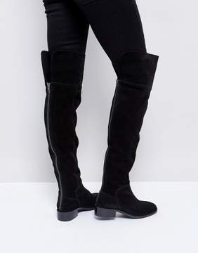 Asos KORE Suede Over The Knee Boots