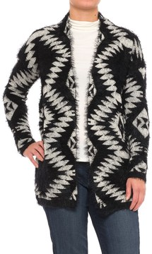 Chelsea & Theodore Open Front Cardigan Sweater (For Women)