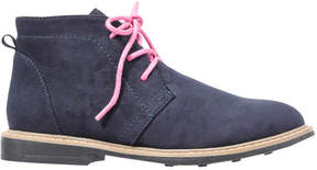 Joe Fresh Kid Girls' Desert Boots, Navy (Size 11)