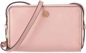 Tory Burch Parker Leather Mini Bag - PINK - STYLE