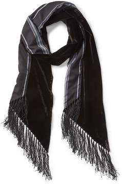 Gap Velvet fringe scarf