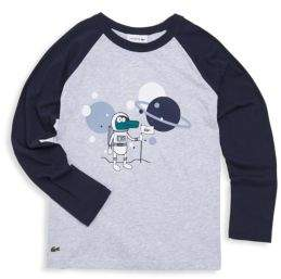 Lacoste Toddler's & Little Boy's Space Age Cotton Tee