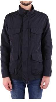Peuterey Men's Blue Polyester Outerwear Jacket.