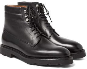 John Lobb Alder Leather Derby Boots