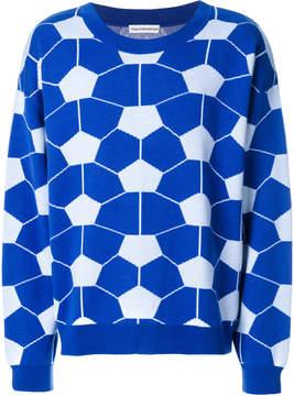 Gosha Rubchinskiy geometric print jumper