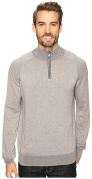 Agave Denim Lundy Long Sleeve Supima Fine Gauge Men's Long Sleeve Pullover