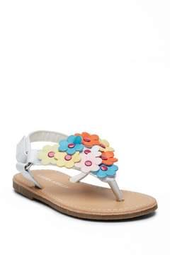 Laura Ashley Floral Sandal (Toddler)