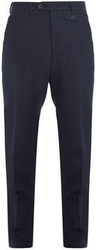 Oliver Spencer Mid-rise wool trousers