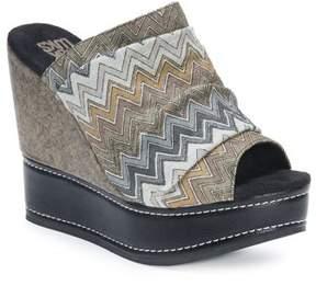 Muk Luks Women's Peyton Platform Wedge Sandal