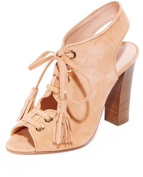 Club Monaco Mireva Lace Up Sandals