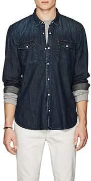 John Varvatos Men's Denim Shirt