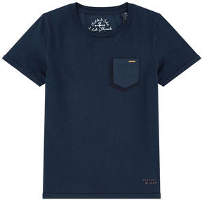 Scotch & Soda Classic navy blue T-shirt