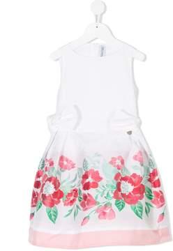 Simonetta floral pleated dress