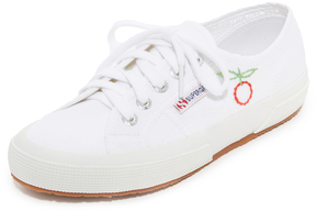 Superga Sweet As Cherries Embroidered Classic Sneakers