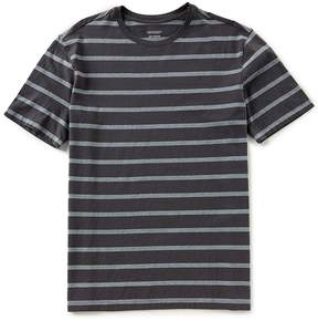 Roundtree & Yorke Soft Washed Short Sleeve Bar Stripe T-Shirt