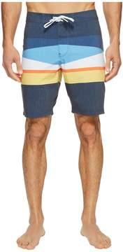 VISSLA Flagged Four-Way Stretch Boardshorts 20 Men's Swimwear