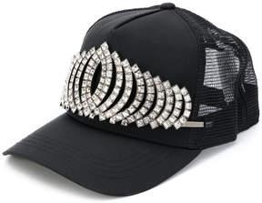 DSQUARED2 jewelled tiara cap