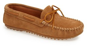 Minnetonka Men's Suede Driving Shoe