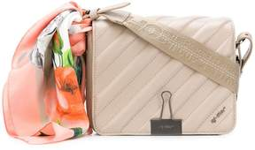 Off-White quilted scarf shoulder bag