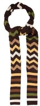 Missoni Patterned Long Wool Scarf