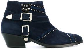 Anine Bing Bianca Cowboy boots