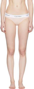 Calvin Klein Underwear Pink Modern Cotton Thong