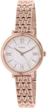 Fossil Women's ES3799 Jacqeline Stainless Steel Watch, 27mm