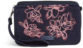 Vera Bradley Iconic RFID All in One Crossbody - MICROFIBER CLASSIC NAVY - STYLE