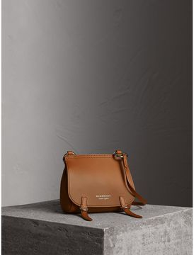 Burberry The Baby Bridle Bag in Leather - TAN - STYLE