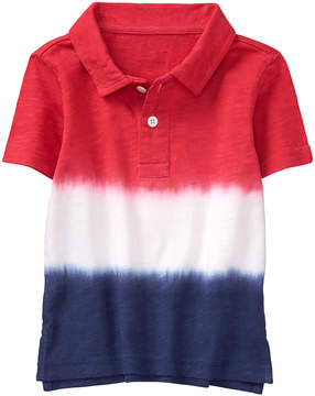 Gymboree True Red Ombre Dip-Dye Polo - Infant, Toddler & Boys