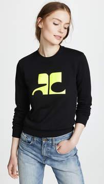 Courreges Logo Sweater
