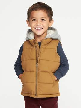 Old Navy 2-in-1 Quilted Canvas Vest for Toddler Boys