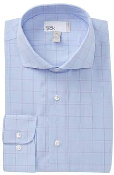 Nordstrom Check Trim Fit Dress Shirt