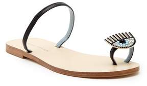 Chiara Ferragni Leather Sandal