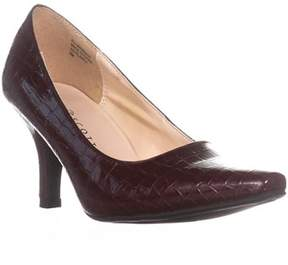 Karen Scott Ks35 Clancy Classic Pointed Toe Pump Heels, Wine.