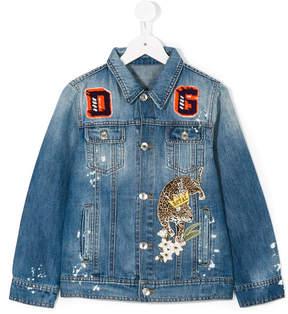 Dolce & Gabbana patched denim jacket