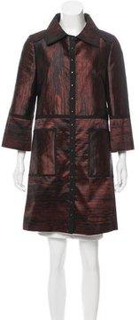 Andrew Gn Stud-Embellished Lightweight Coat