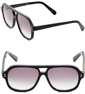 Stella McCartney Women's 55MM Square Sunglasses