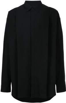 Julius concealed fastening shirt