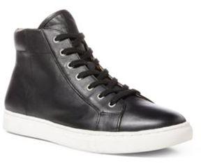 Ralph Lauren Dree Nappa High-Top Sneaker Black 10