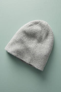 White + Warren Ribbed Cashmere Beanie
