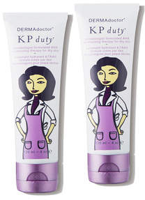 Dermadoctor KP Double Duty Dermatologist AHA Moisturizing Therapy for Dry Skin Dual Pack