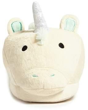 FOREVER 21 Unicorn Pom Pom Slippers