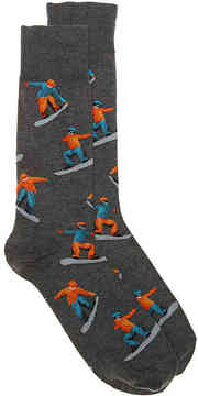 Hot Sox Men's Snowboard Dress Socks