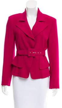 Christian Lacroix Belted Wool Jacket