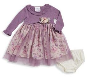Iris & Ivy Baby Girls' Two-Piece Floral Dress & Bloomers Set