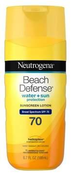 Neutrogena® Beach Defense Broad Spectrum Sunscreen Body Lotion - SPF 70 - 6.7oz