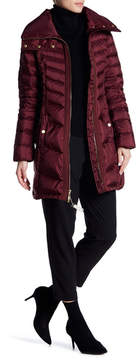 Ellen Tracy Front Zip Quilted Jacket